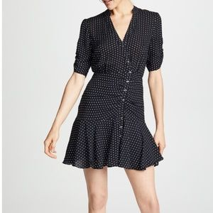 Free People Pippa Polkadot Mini Dress